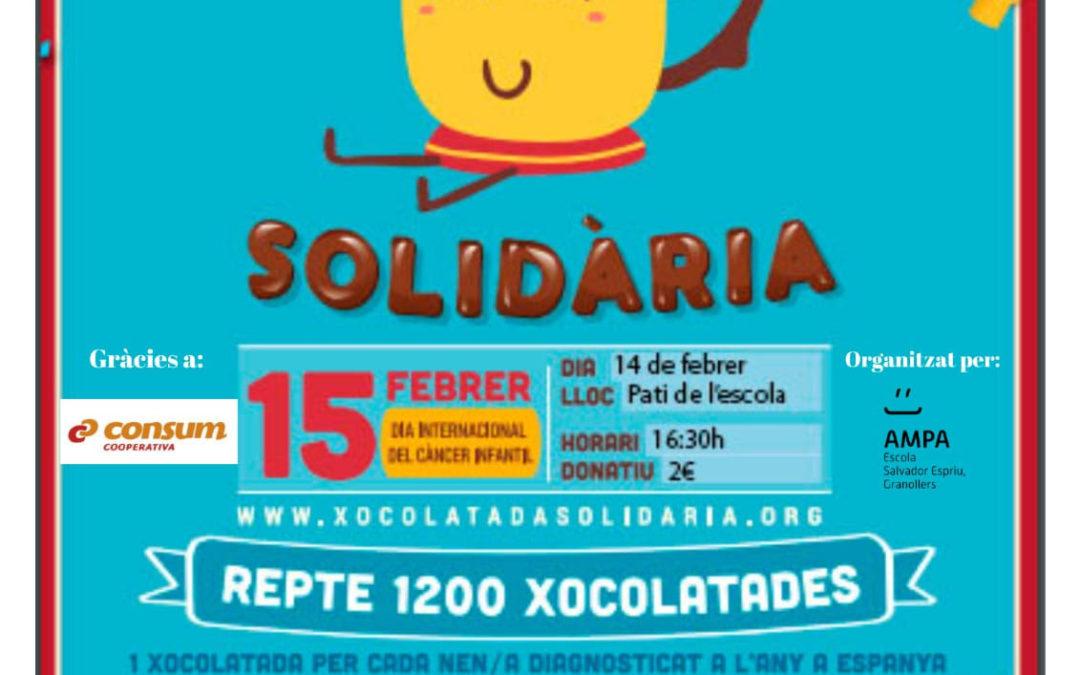 Xocolatada solidària divendres 14